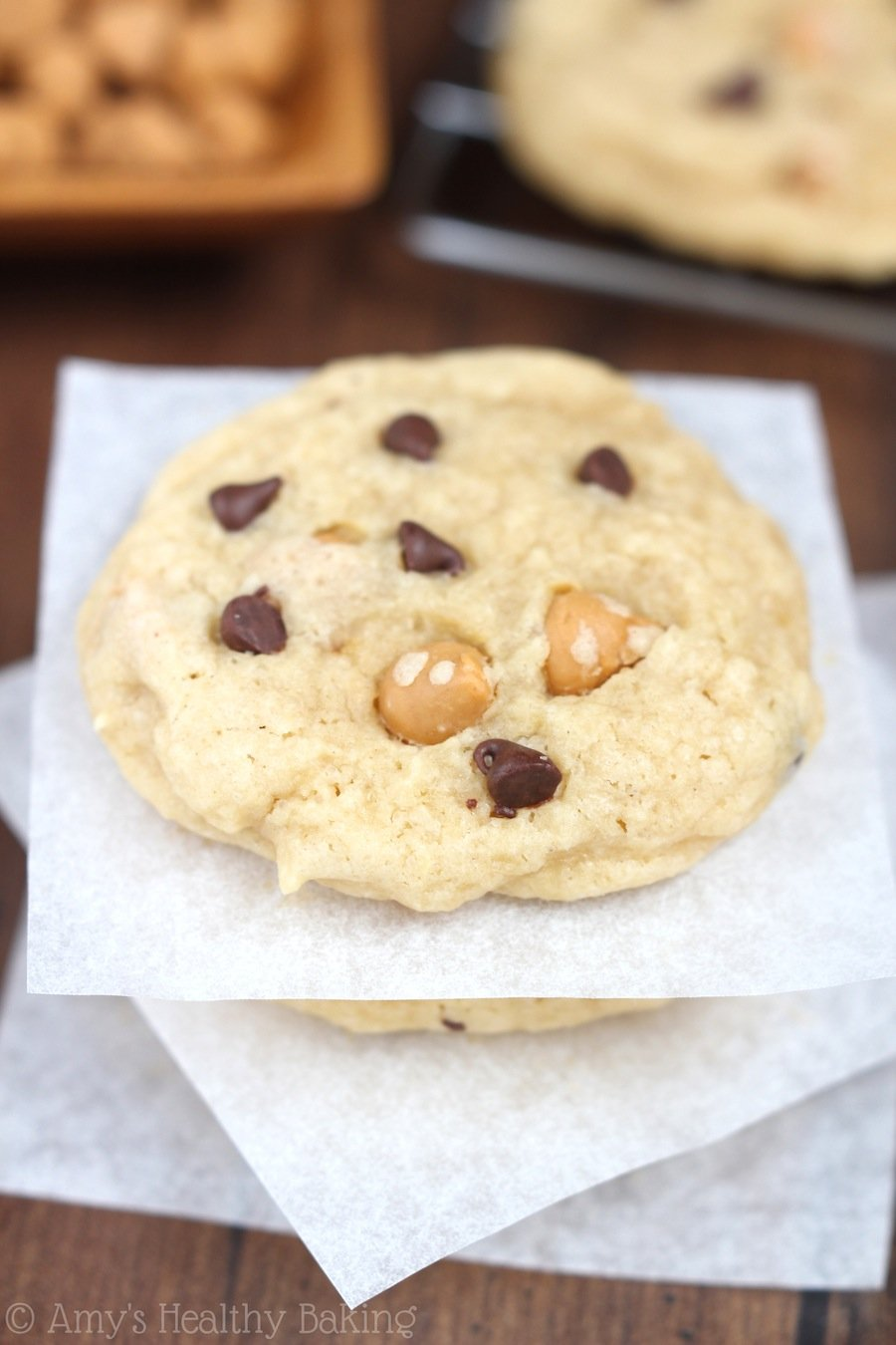 Butterscotch Chocolate Chip Cookies | Amy's Healthy Baking