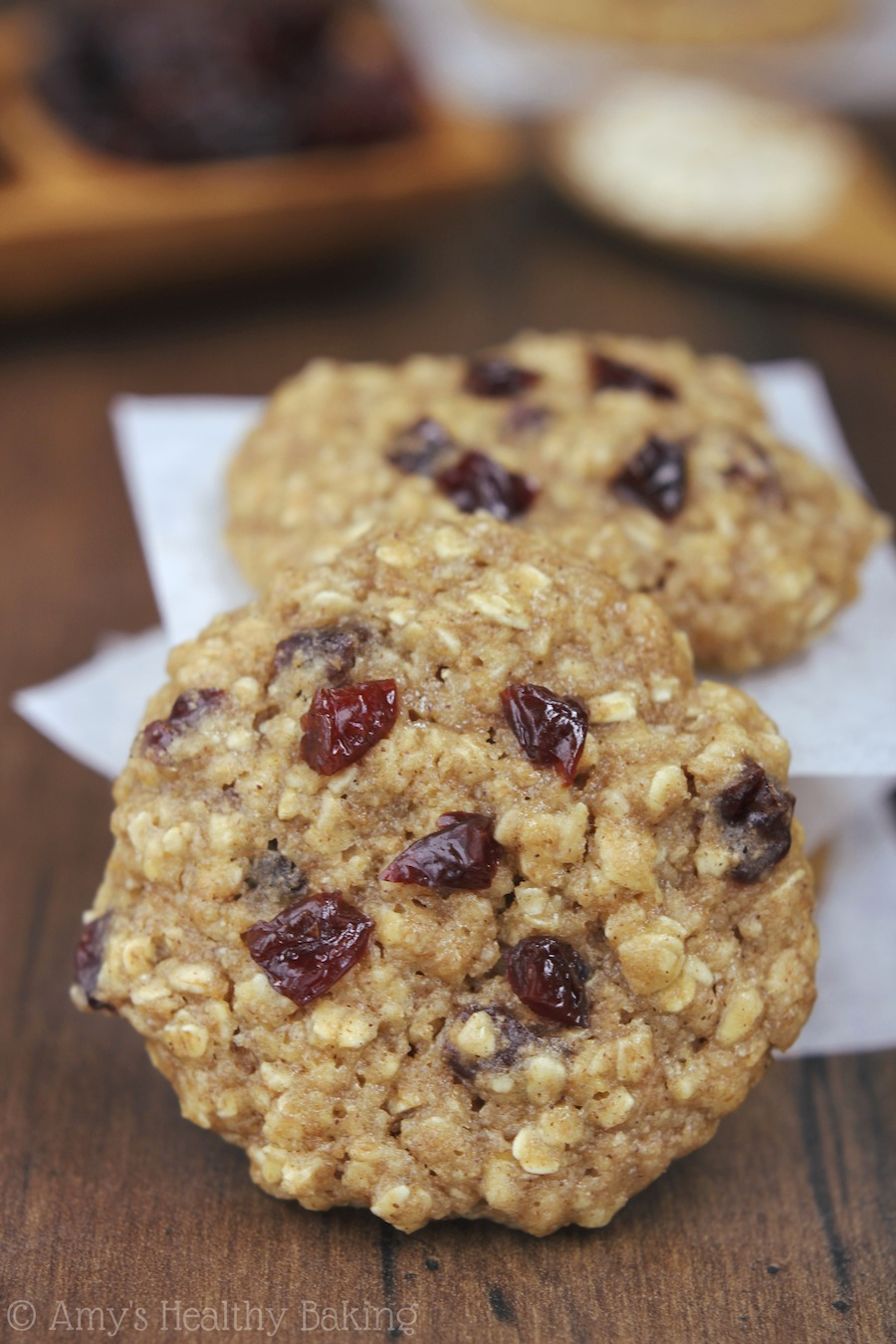 Chewy Cherry-Oatmeal Cookies Recipe — Dishmaps
