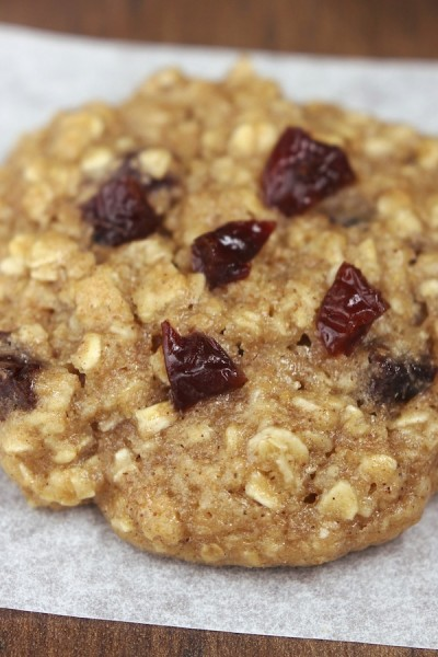 Cherry Peanut Butter Oatmeal Cookies