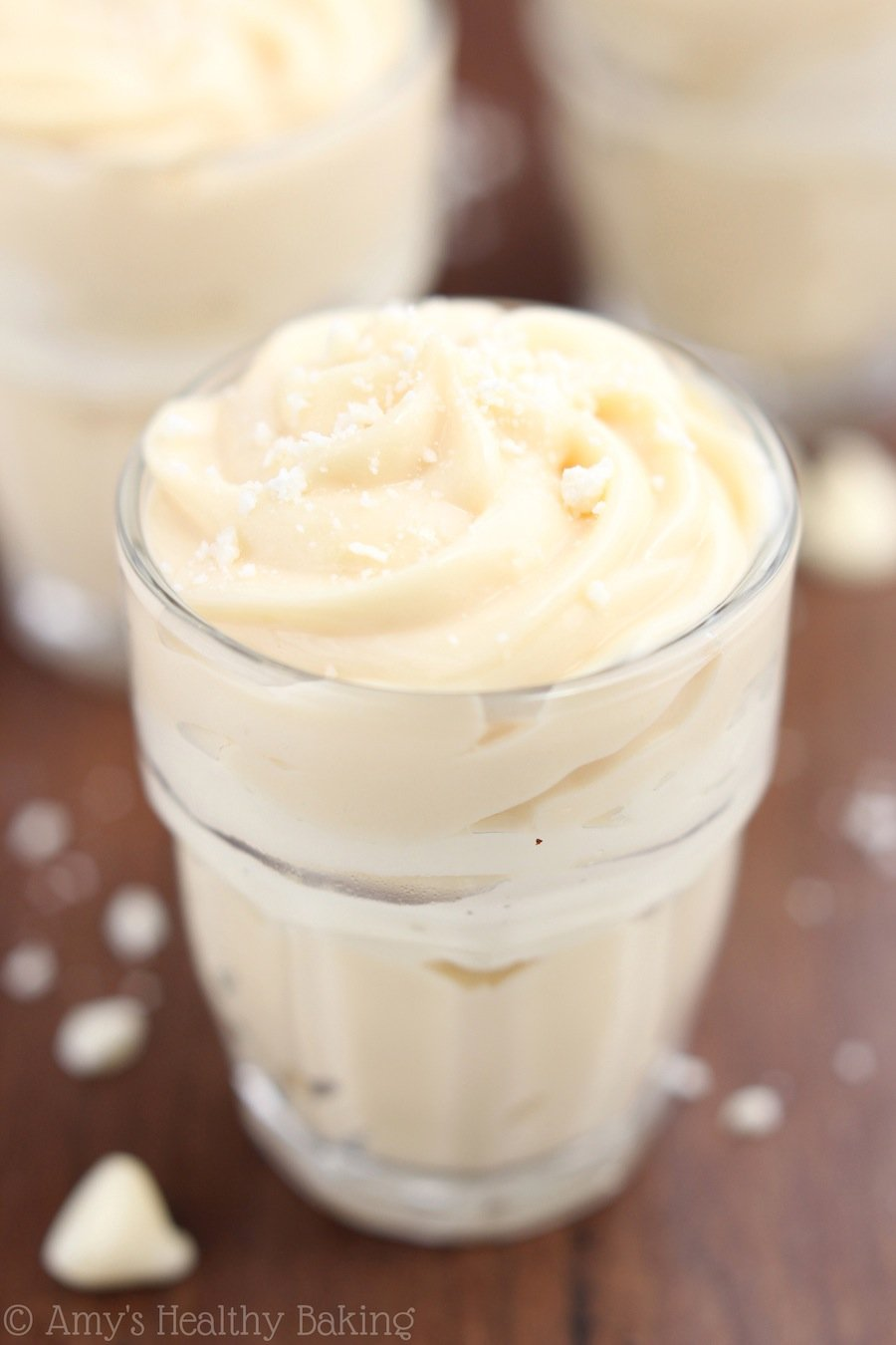 Skinny Dulce de Leche Parfaits recipe -- just 5 ingredients & 110 calories!