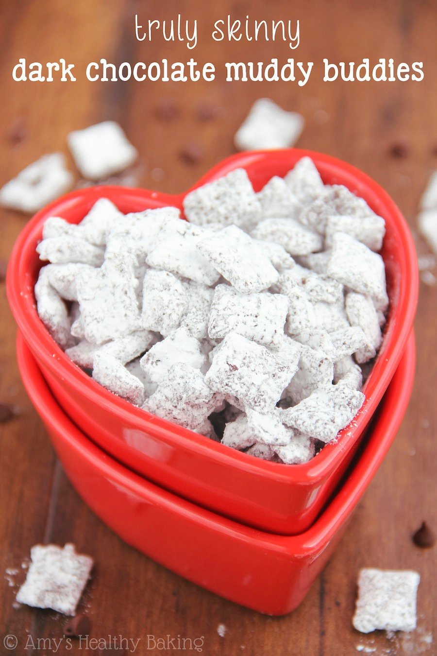 Skinny Dark Chocolate Muddy Buddies