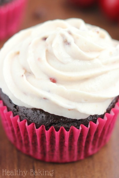 Share a Coke: Chocolate Coke Cupcakes with Cherry Vanilla Frosting