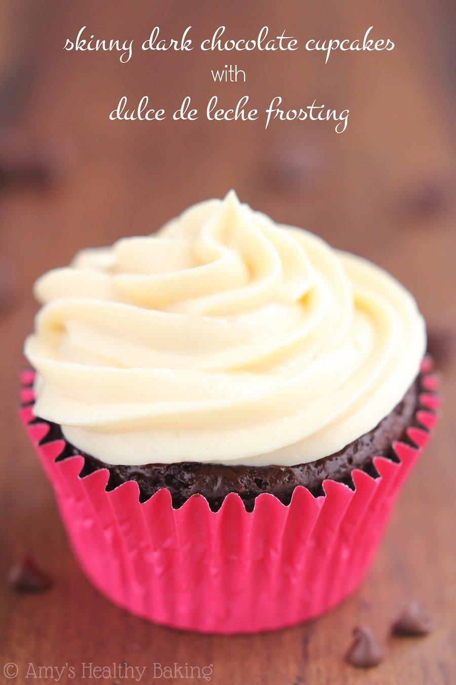 Dulce de Leche Chocolate Cupcakes