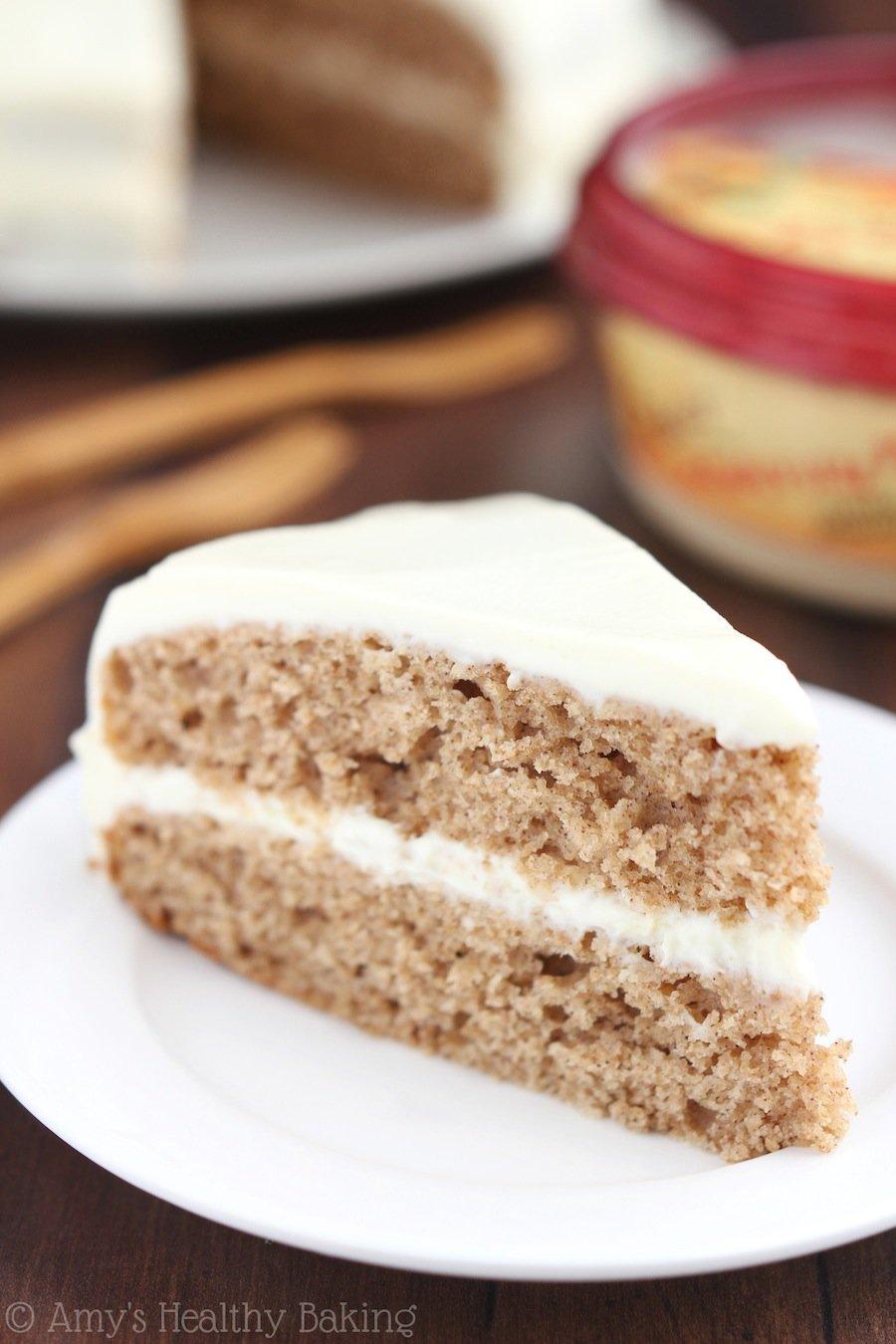 Spiced Hummus Cake With Vanilla Yogurt Frosting Amy S