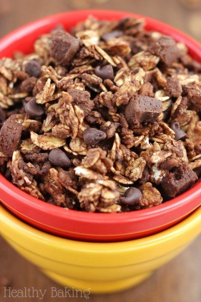 Double Chocolate Brownie Granola
