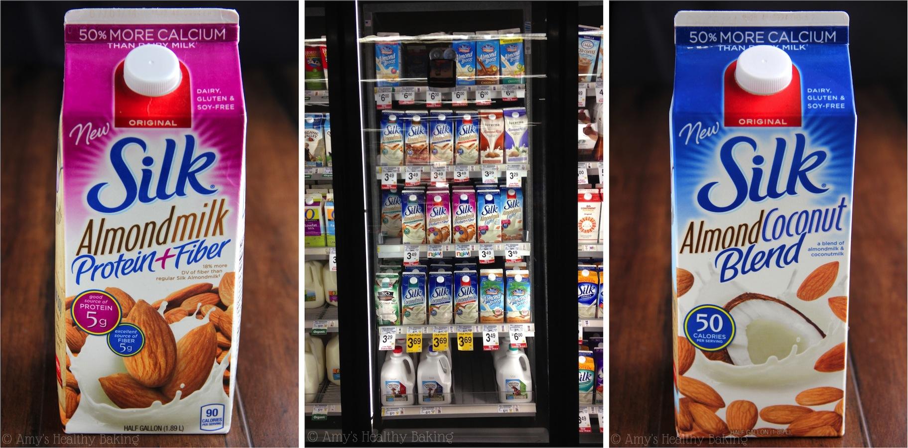 Silk Almond Milk Blends: Protein + Fiber & Coconut!