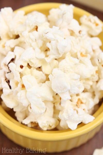 Skinny Buttered Popcorn