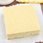 Fudgy Lemon Brownies -- so amazing!! Perfect for any lemon lover & only 74 calories!