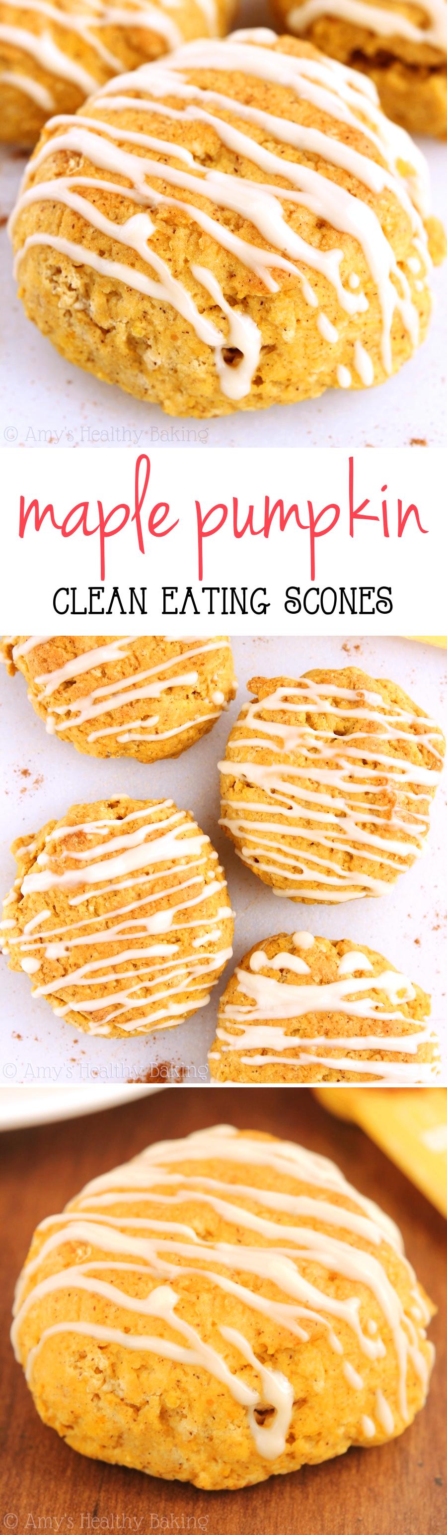 Maple Pumpkin Scones | Amy's Healthy Baking