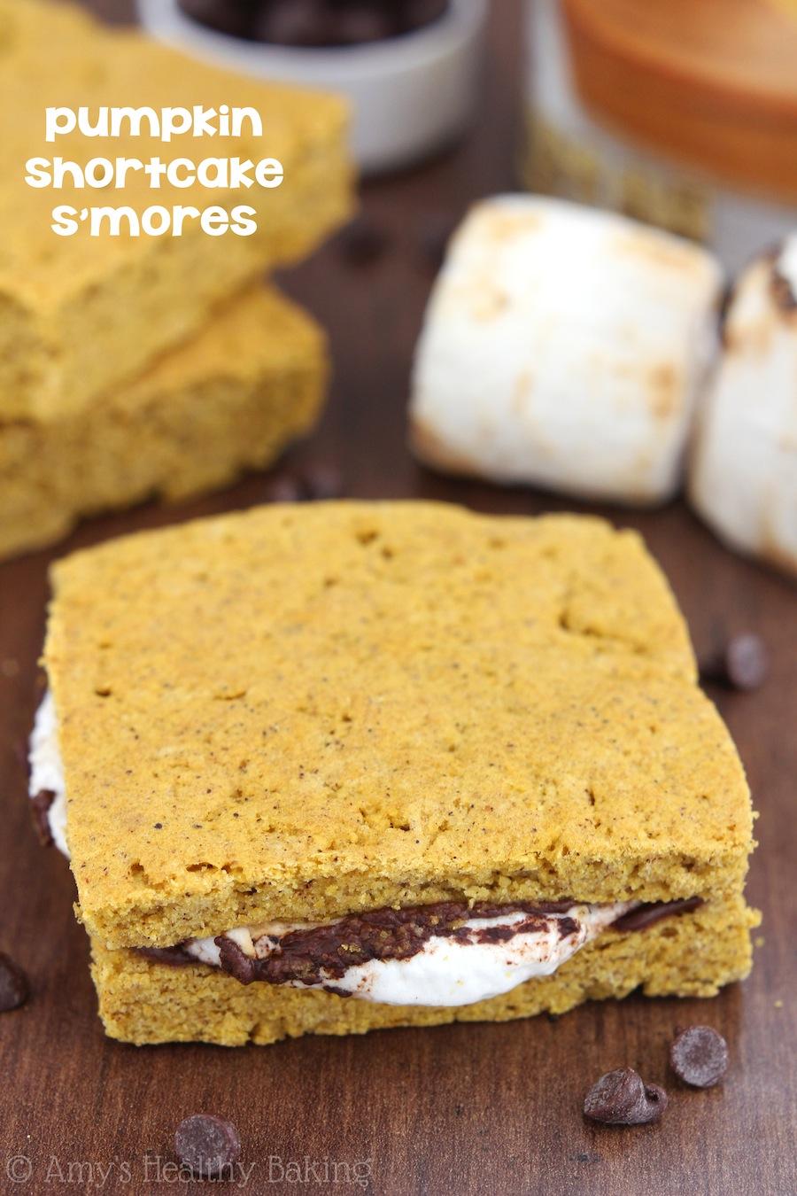 Pumpkin Shortcake S'mores