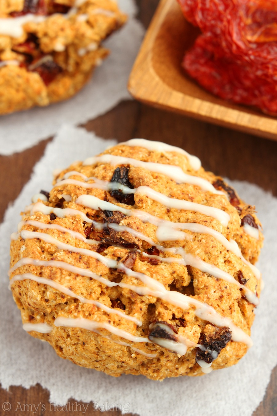 Sun Dried Tomato Chili Scones -- SO soft & tender! My family declared these the best scones they've ever had!