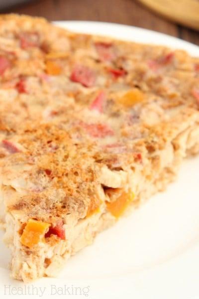 Chicken Fajita Quiche: Sweet 'n Spicy Gluten-Free Brunch Recipes {Part 2}