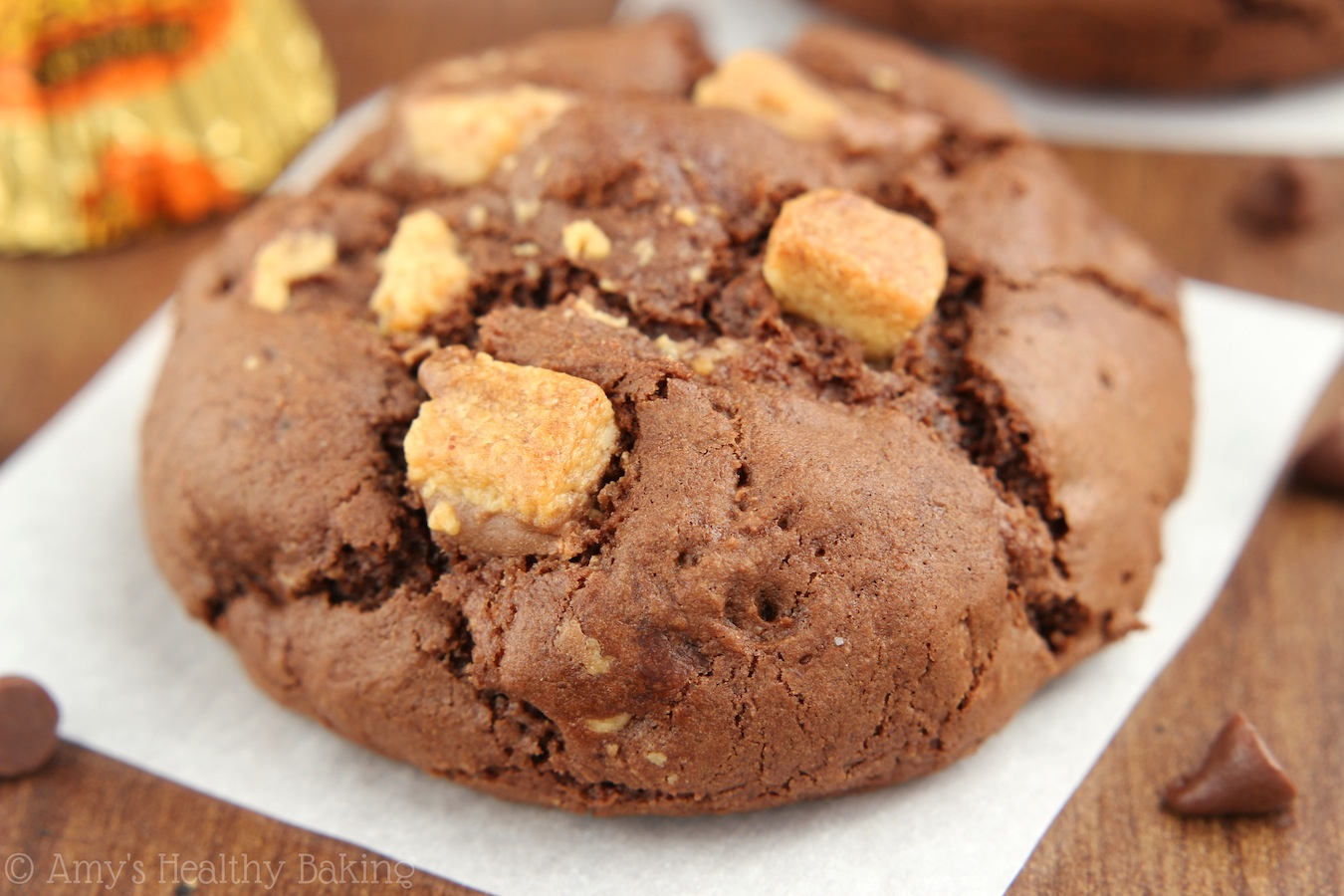 Peanut Butter Cup Chocolate Cookies -- the BEST cookies I've ever made ...