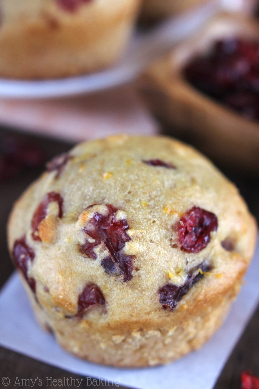 Cranberry Orange Muffins -- the BEST recipe you'll find! Soft, tender & bursting with bright citrus flavor! We finished the batch in one day!