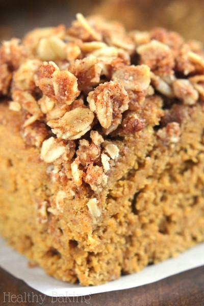 Slow Cooker Pumpkin Streusel Coffee Cake