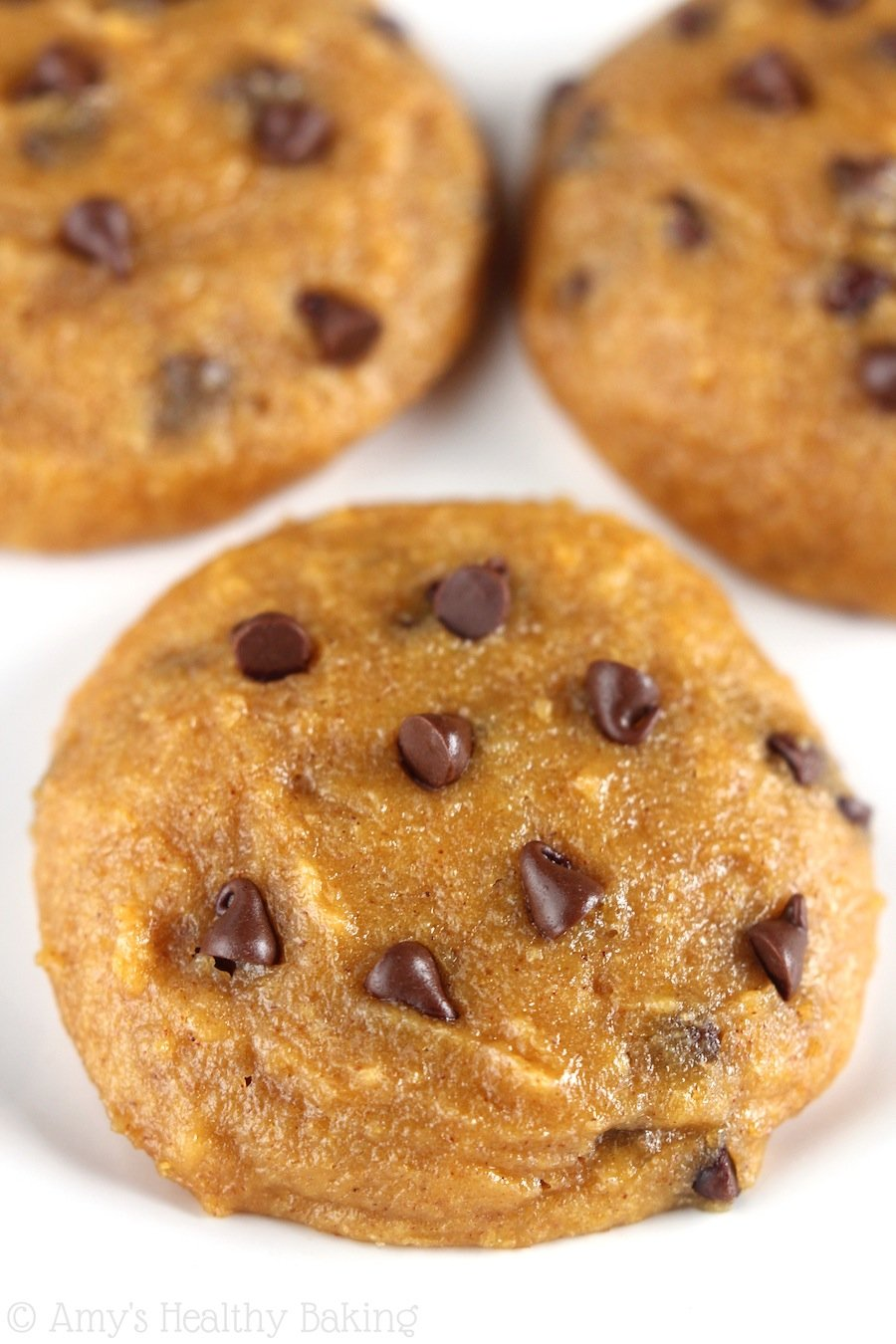 Ultimate Healthy Soft & Chewy Pumpkin Chocolate Chip Cookies ...