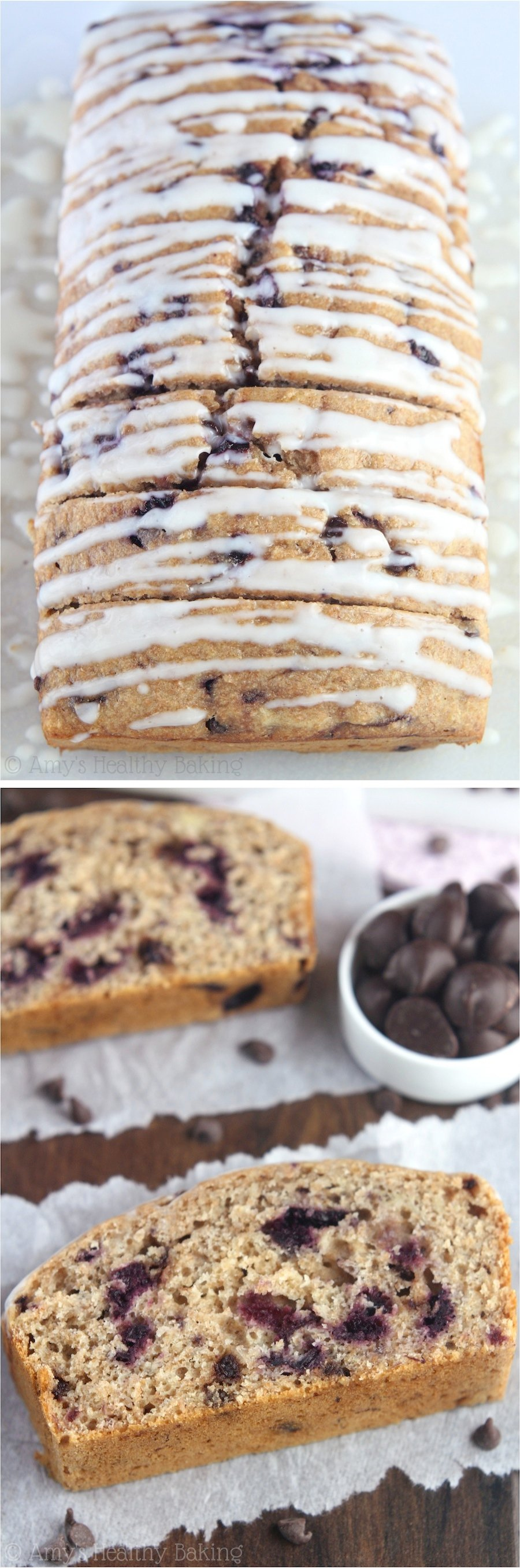 Healthy Banana Split Banana Bread