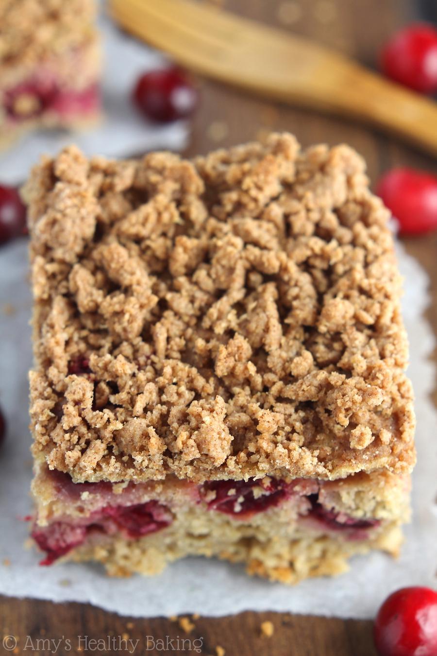 Easy Cranberry Coffee Cake