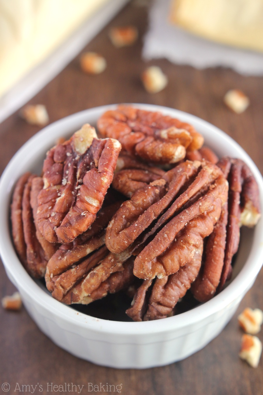 Easy Pecan Hand Pies -- just 5 ingredients! Sweet, cinnamony & SO flaky. Holiday desserts don't get easier than this!