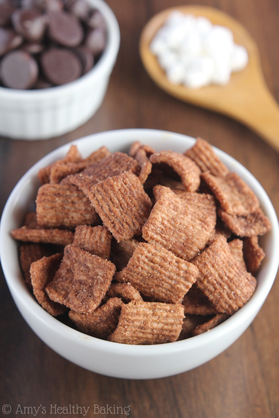 Hot Chocolate Cereal Treats | Amy's Healthy Baking