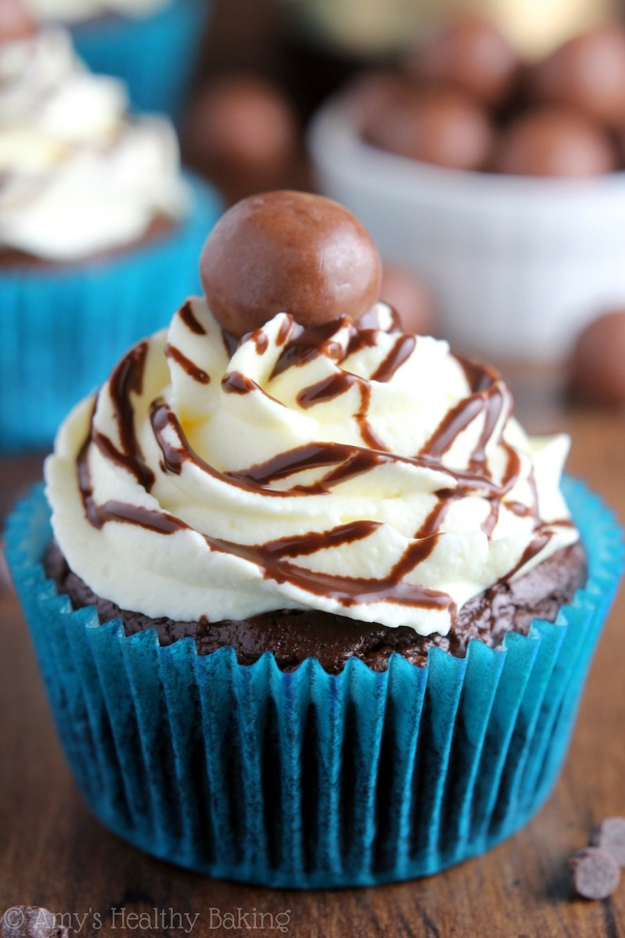 Malty Chocolate Beer Cupcakes -- insanely rich with sweet hints of malty caramel. The best way to eat - or drink! - your booze!