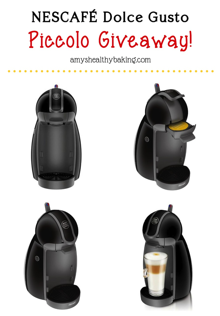NESCAFÉ Dolce Gusto Giveaway on amyshealthybaking.com! Enter to win before 11/16/14!