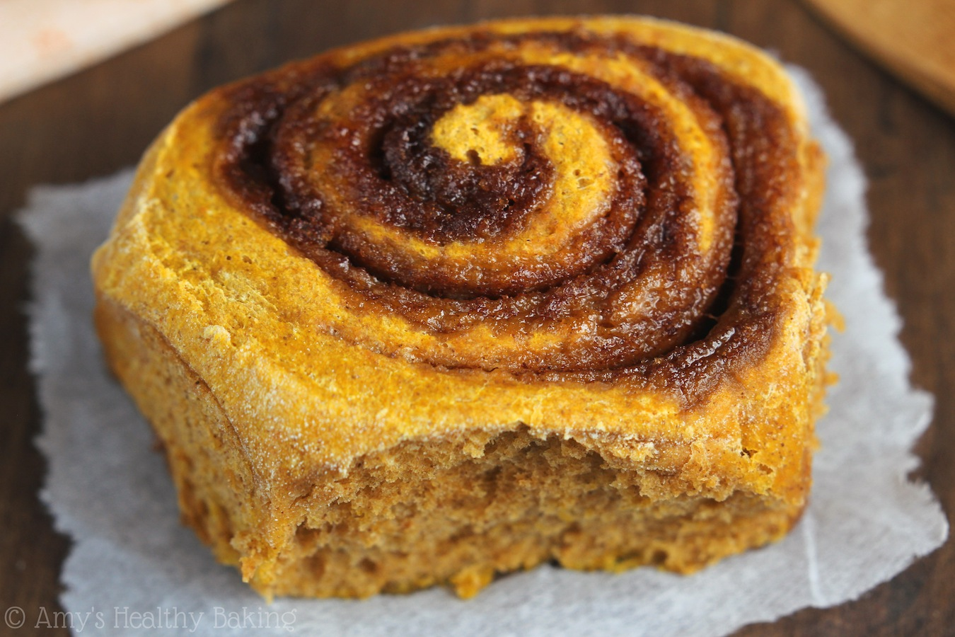 Pumpkin Roll, Lightened Up Recipe — Dishmaps