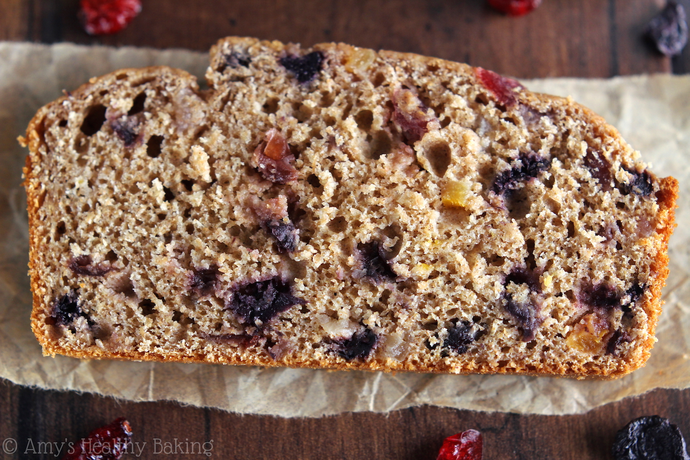 Classic Fruitcake -- a healthy version made with real fruit! It's supremely moist & our family's favorite holiday tradition!