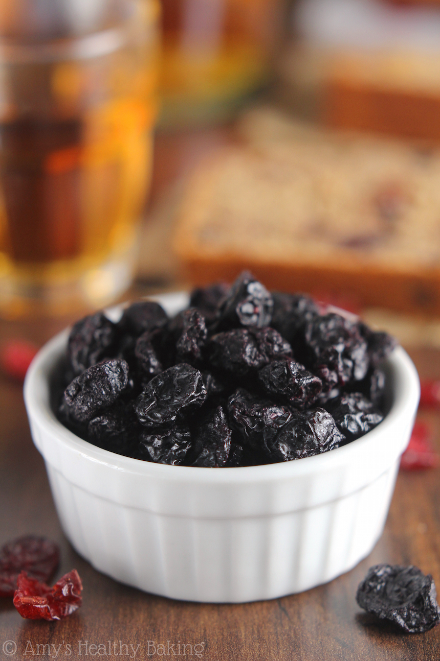 Dried Blueberries for Classic Fruitcake {a healthier, clean eating version!}