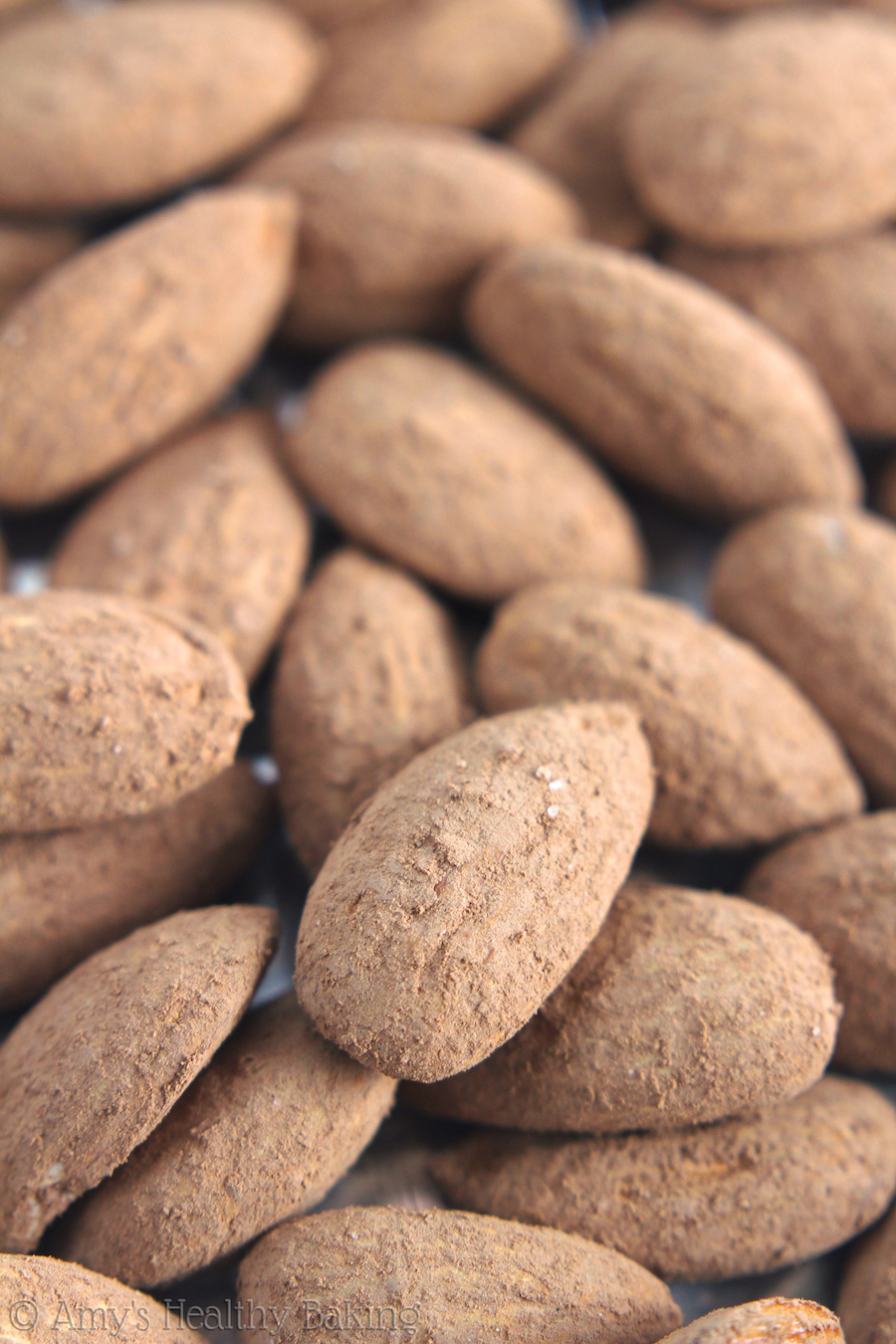 Cocoa Roasted Almonds | Amy's Healthy Baking