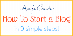 How to Start a Blog -- 9 easy steps & TONS of awesome tips!