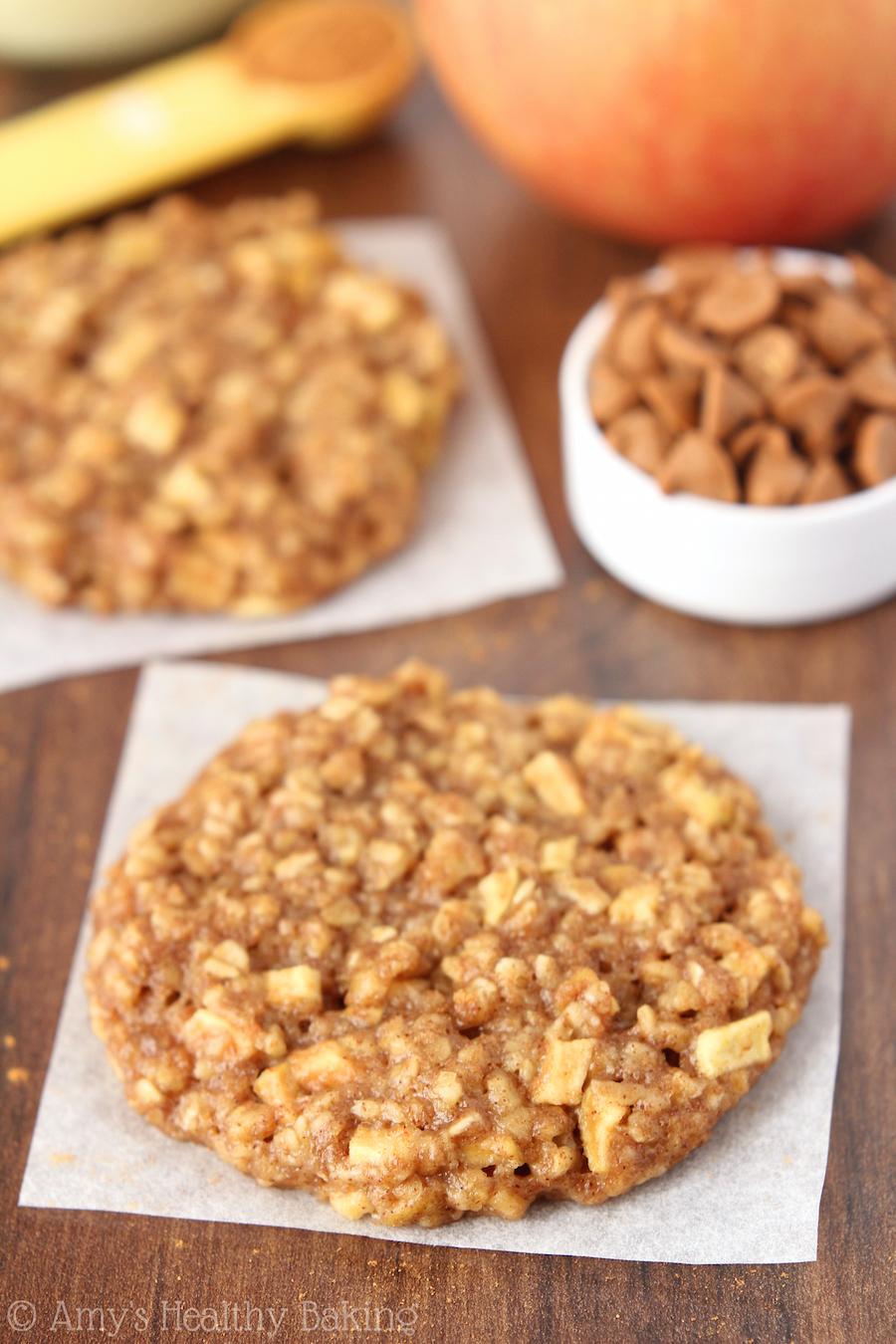 Apple Pie Oatmeal Cookies {Recipe Video!}