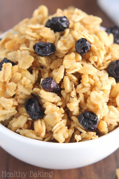 Blueberry Maple Almond Granola