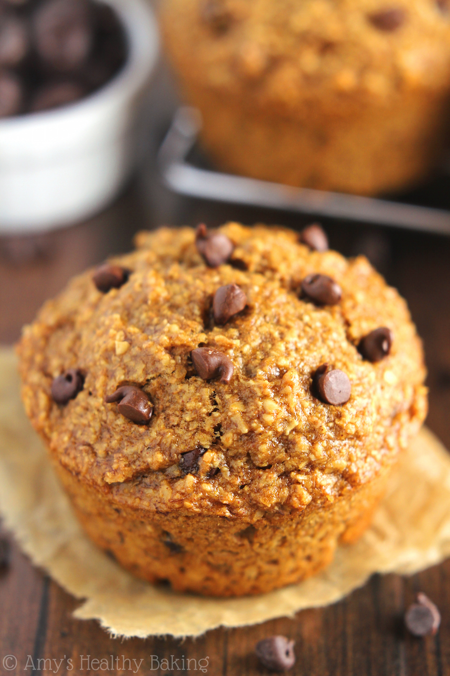 Food Network Banana Chocolate Chip Muffins