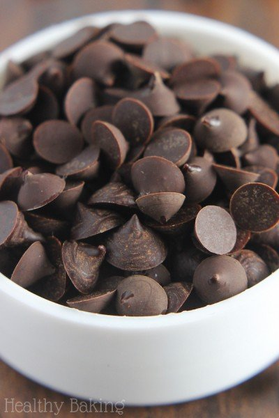 Homemade Two-Ingredient Chocolate Chips