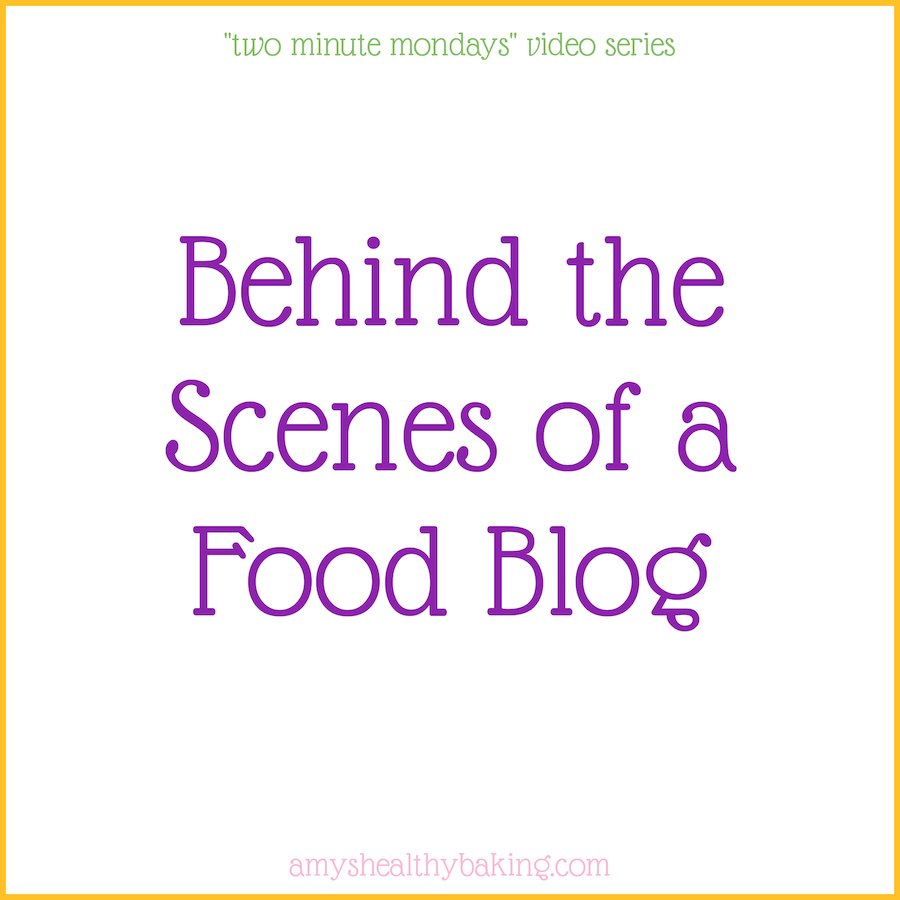 {Video Series} Behind the scenes of a food blog: recipe testing, a typical work day & more!
