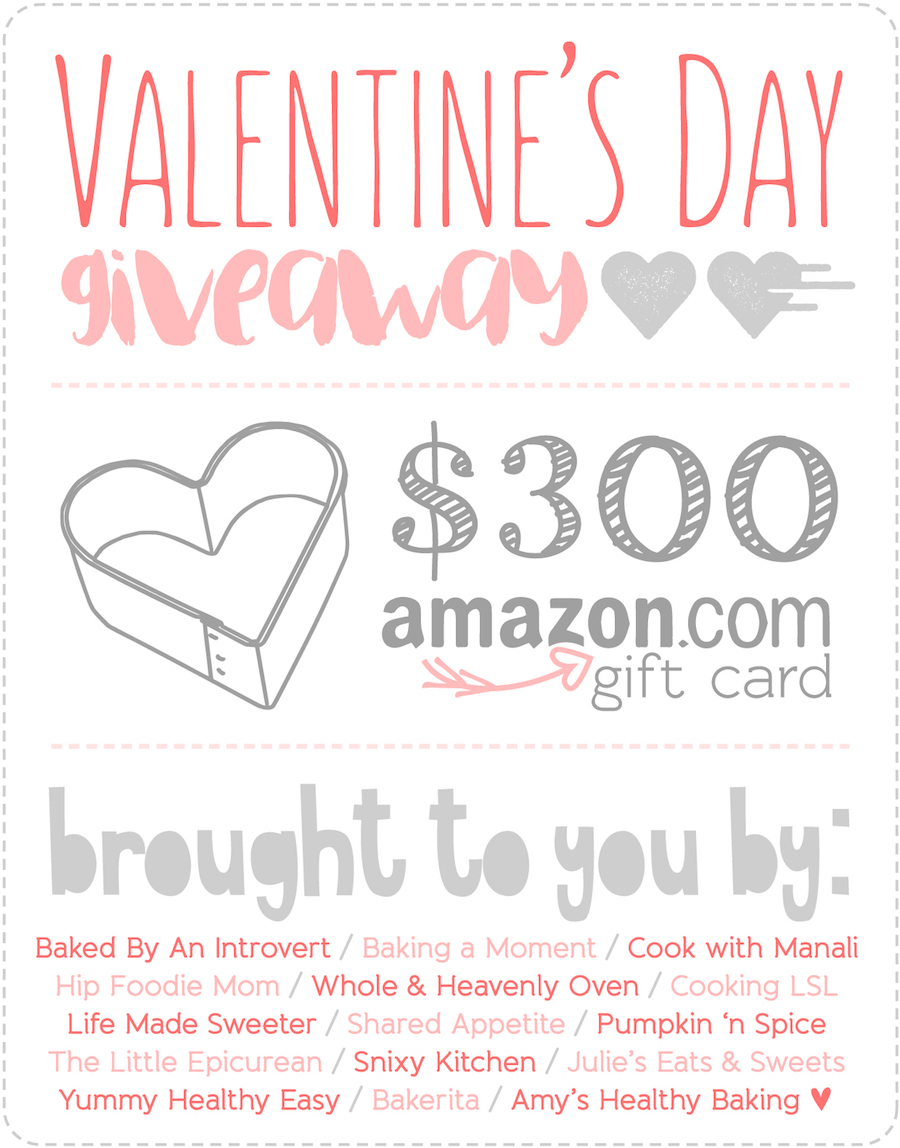 $300 Amazon Gift Card Giveaway -- enter to win by 2/9/15!