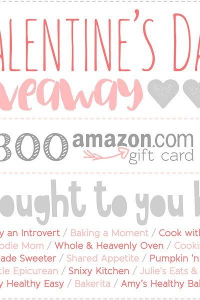 Amazon Gift Card Giveaway! {Ended}