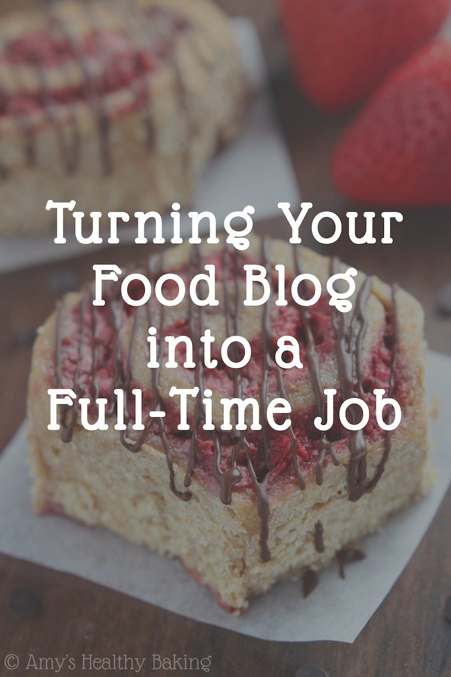 {Video} How to turn your food blog into a full-time job!