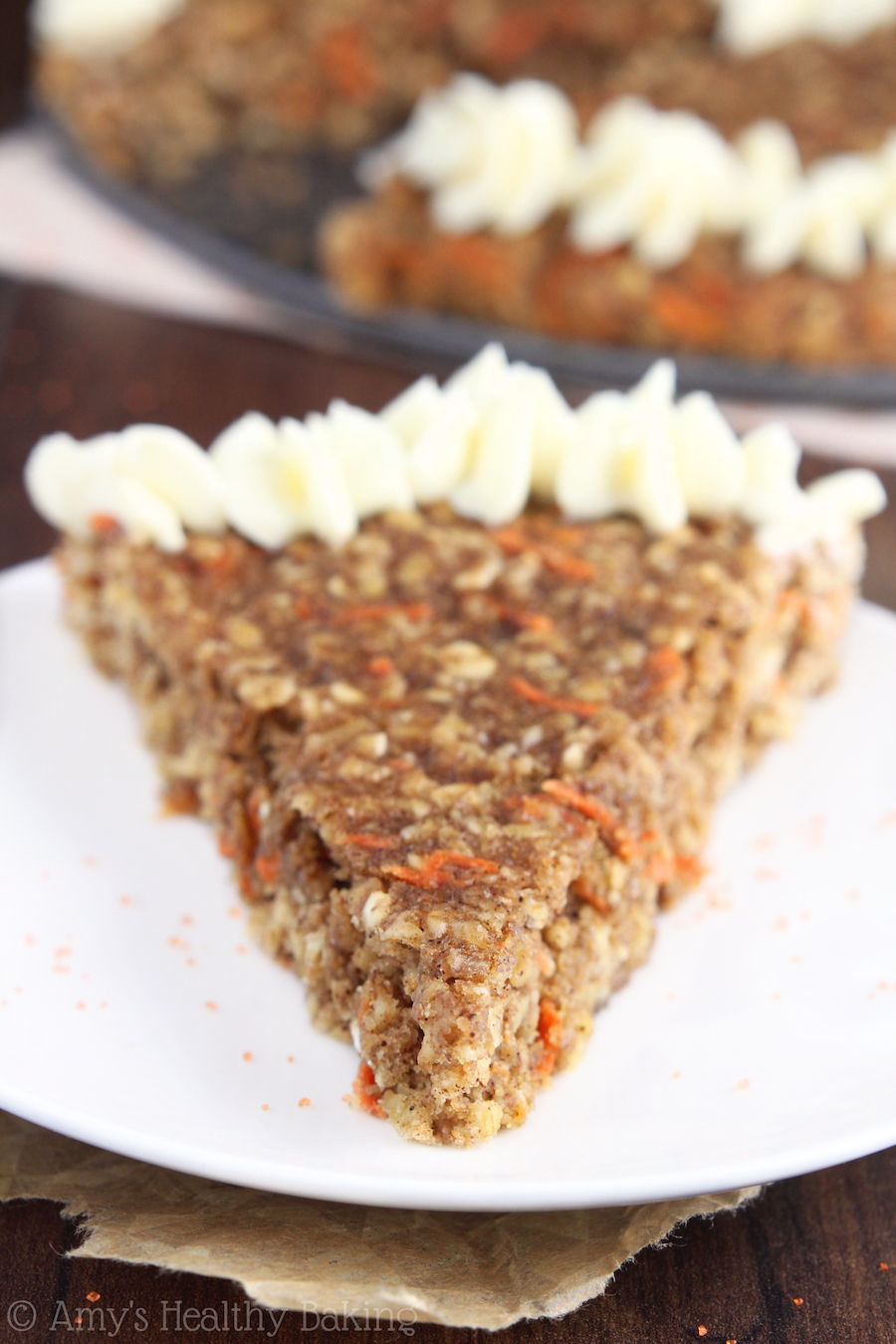 Carrot Cake Oatmeal Slow Cooker