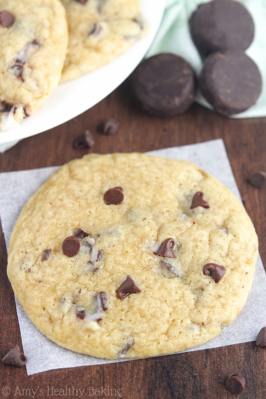 Mint Chocolate Chip Cookies | Amy's Healthy Baking