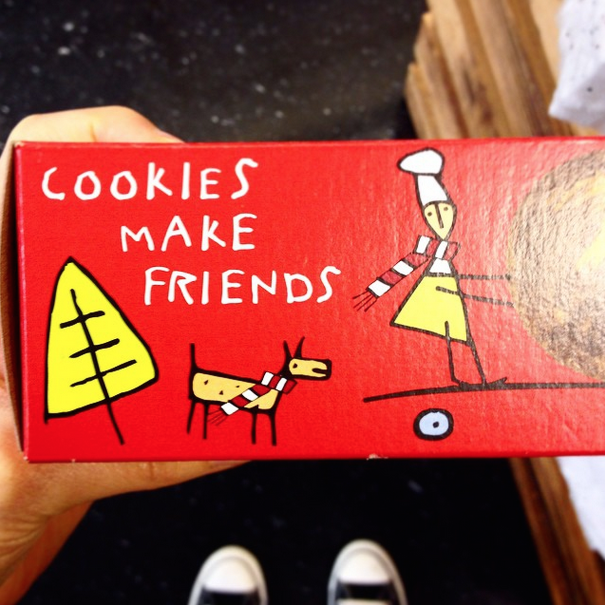 Cookies make friends!