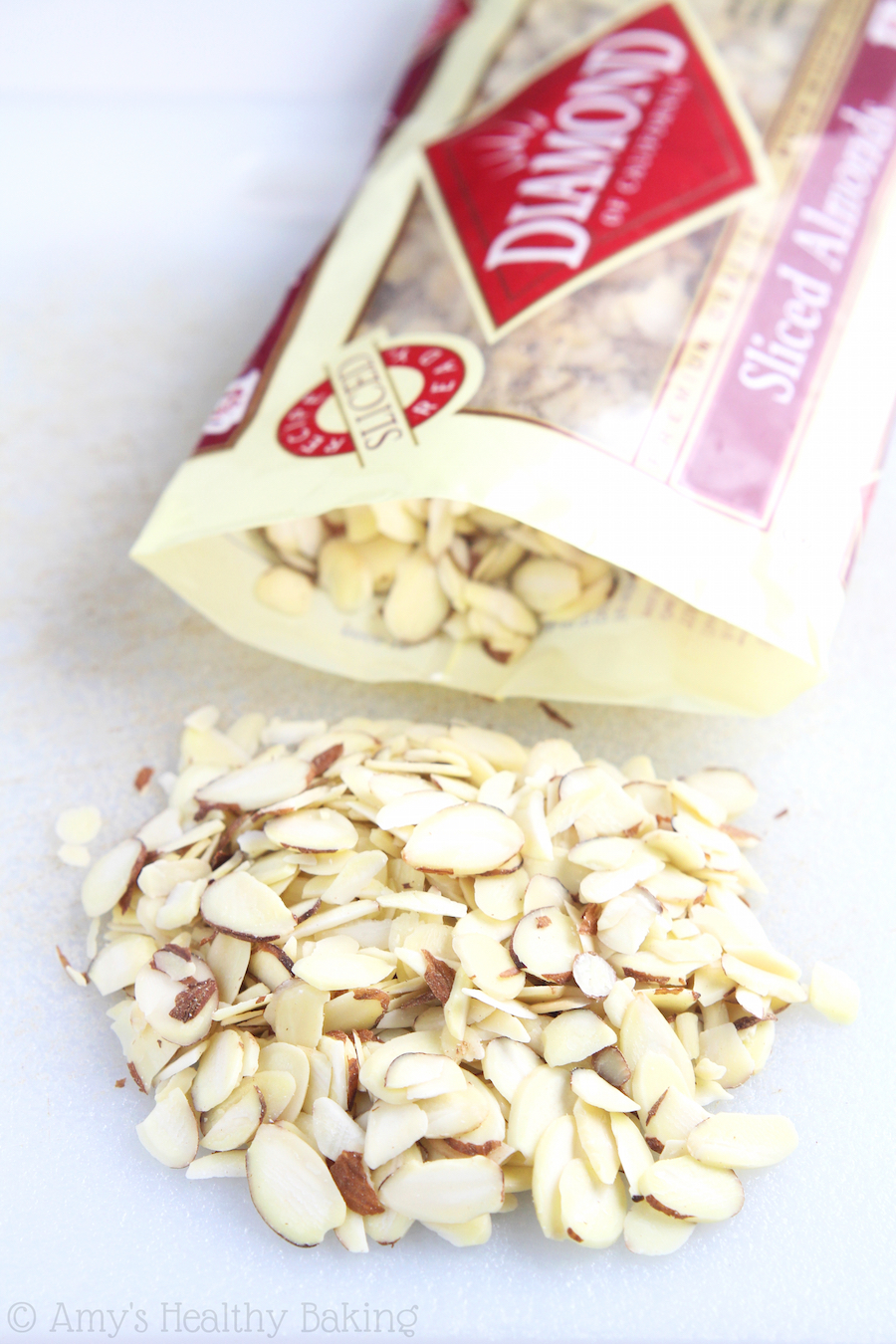 Diamond of California Sliced Almonds -- perfect for baking & snacking!