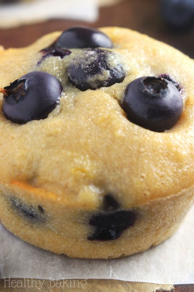 Small-Batch Lemon Blueberry Muffins