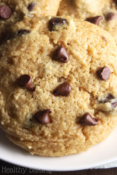 The Ultimate Healthy Soft & Chewy Gluten-Free Chocolate Chip Cookies