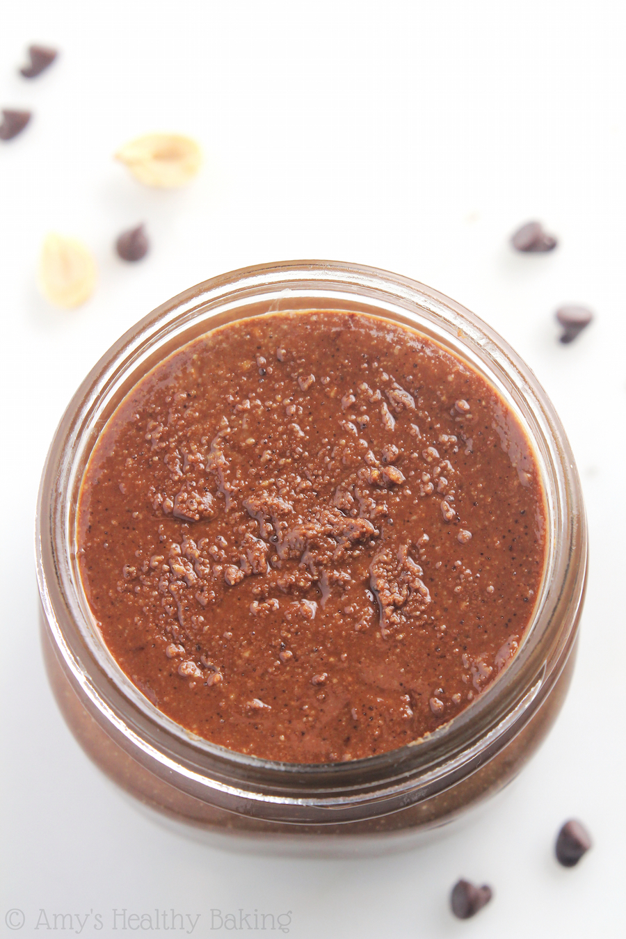 "Clean-Eating ""Reese's"" Dark Chocolate Peanut Butter -- you just need 4 ingredients & 10 minutes! SO much healthier & cheaper than store-bought!"