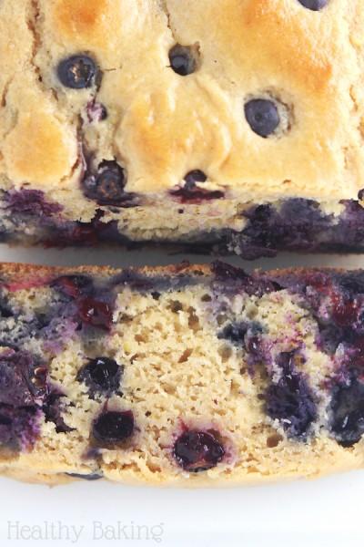 Lemon Blueberry Breakfast Loaf