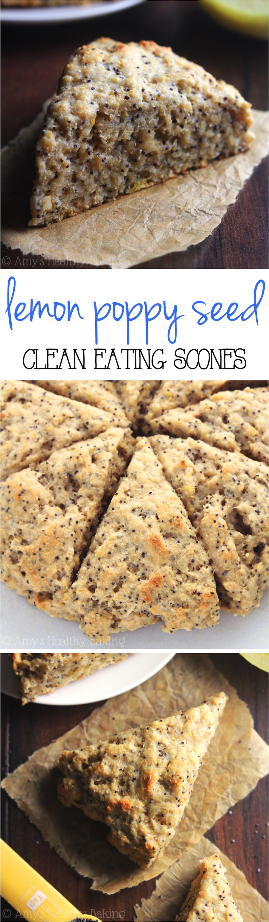 Tender scones bursting with bright sunshiny flavor! They're perfect ...