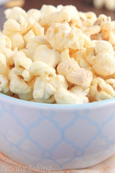 Skinny Peanut Butter Kettle Corn