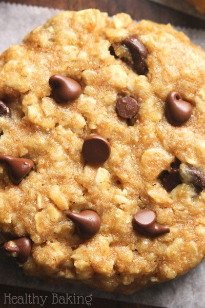 Chocolate Chip Peanut Butter Oatmeal Cookies {Recipe Video!}